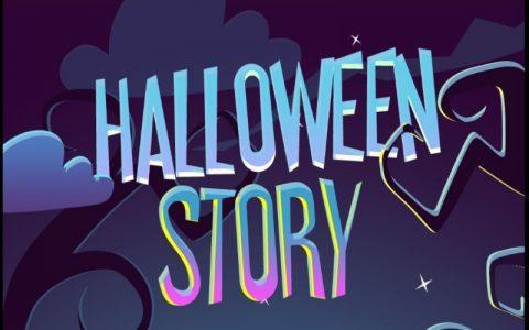 Zabavne Halloween igre - Halloween priča