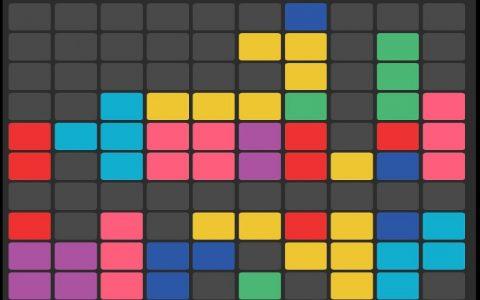 Zabavne puzzle igre - tetris puzzle