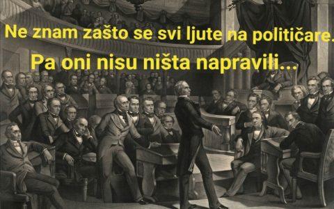 Smiješne slike političara - Obećanja i izbori danas