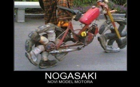 Smiješne slike motora - Novi modeli motora