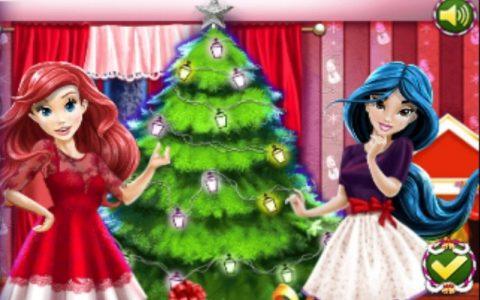 Disney princeze igre za djecu na temu Božića