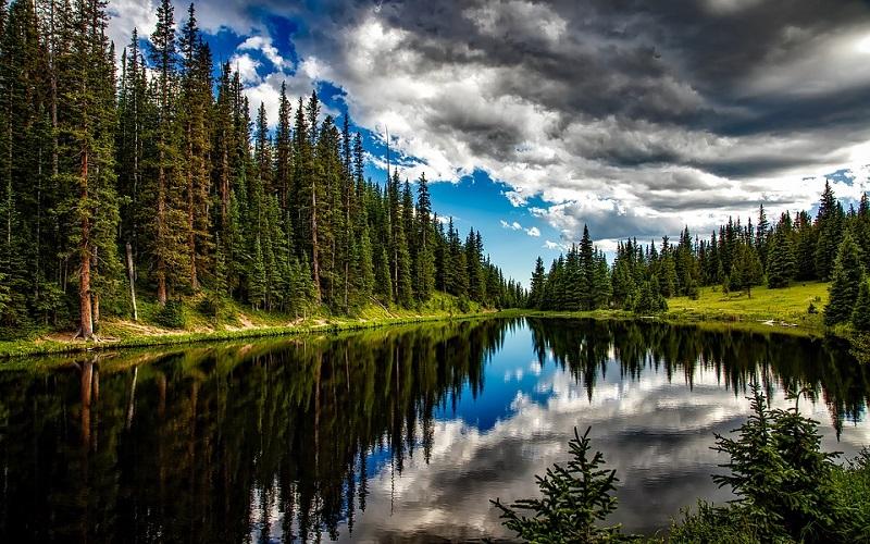Slike prirode - Jezero Irene u Coloradu