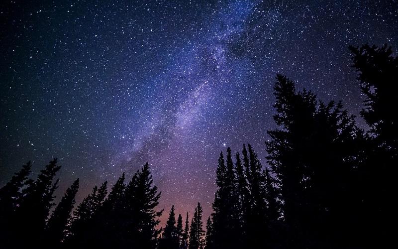 Fotografije zvijezda - Mliječna staza