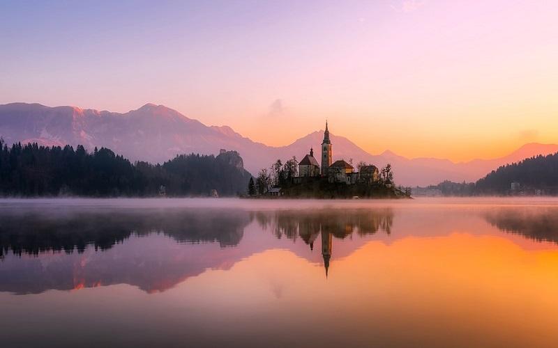 Jezero Bled u Sloveniji