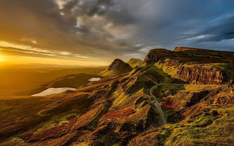 Fotografije zelenila - Škotska