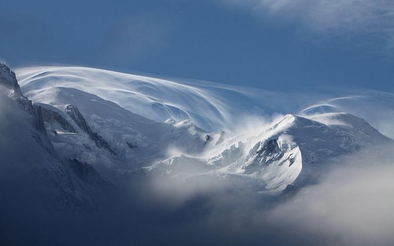 Fotografije planina - Mont Blanc