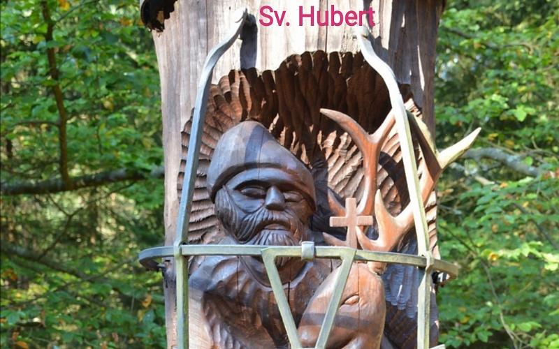 Kršćanske svete slike Svetog Huberta