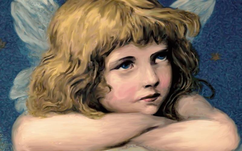 Katoličke svete slike anđela