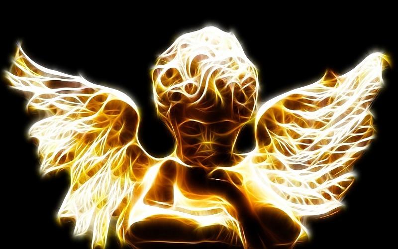 Anđeo i svjetlost