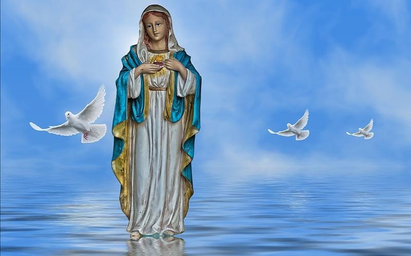 Katoličke svete slike Blažene Djevice Marije