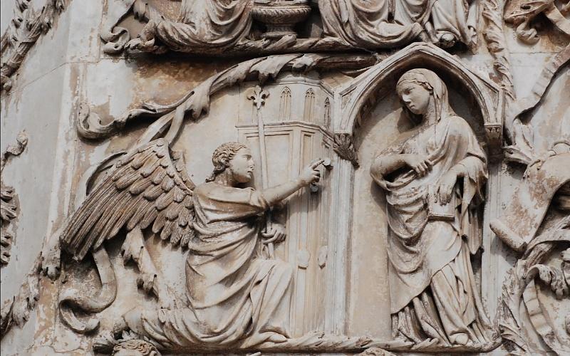Blažena Djevica Marija i anđeo