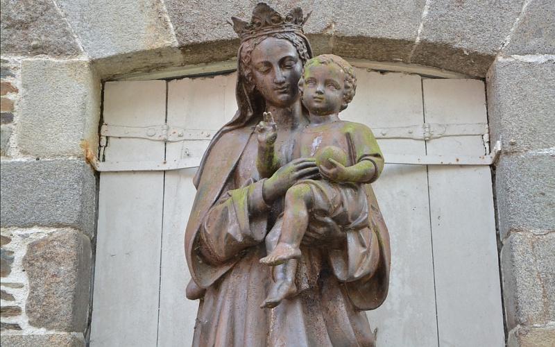 Kršćanske svete slike Djevice Marije