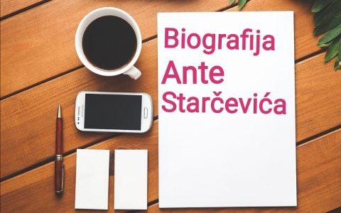 Biografija Ante Starčevića - Biografije poznatih