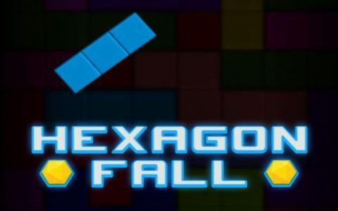 Hexagon Fall - Najbolje zabavne puzzle igre na netu