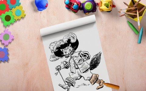 Mačak u čizmama: Bajke za djecu i priče za laku noć