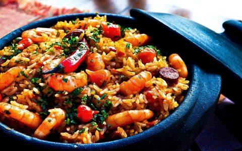 Riža s piletinom i povrćem za 30 min: Slana jela