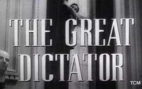 The Great Dictator (1940): Filmovi Charliea Chaplina